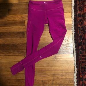 Splits59 Pink Tendu Grip Stirrup Leggings